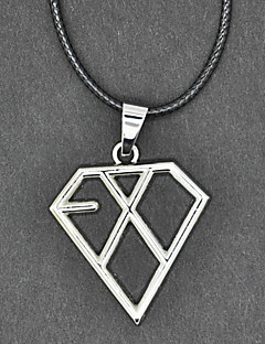 EXO Group Silver Necklace
