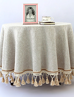 """Nappe unie Style Pays, Lin 40 """"* 40"""""""