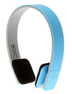 iPhone / Android用耳スポーツボリュームコントロールハイファイステレオオーバーヘッドフォンブルートゥース3.0(青)