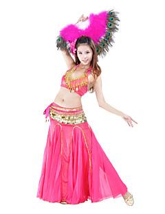 Dansetøj Dame Polyester Belly Dance Long Fish Tail Nederdel (flere farver)