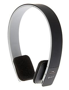On-Ear Smart Bluetooth Sport Volume Control stereo hovedtelefoner til Iphone Android (sort)
