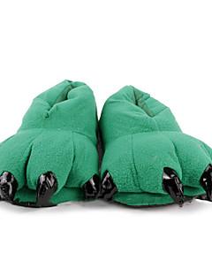 Dejlige grønne Dinosaur Claw Uld Kvinders Slide Slipper