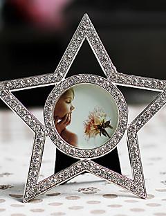 Modern stílus csillag alakú Polyresin képkeret