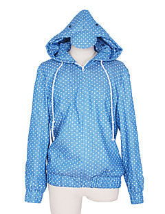 Inspired by Free! Haruka Nanase Anime Cosplay Costumes Cosplay Hoodies Polka Dot / Print Blue Long Sleeve Coat