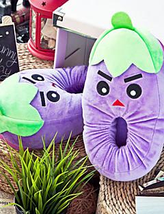 Creative Purple Aubergine Uld Kvinders Slide Slipper