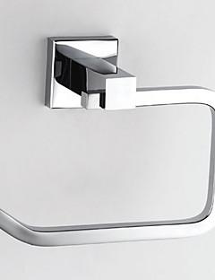 Brass Chrome Finish Toilet Papper Holder, L15.5cm x W12cm x H7cm