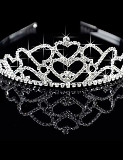 Lega splendido con strass ceco Wedding Tiara