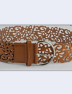 Women Wide Belt,Casual Leather All Seasons