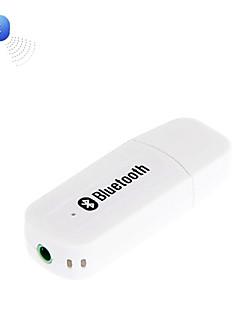 Bluetooth v2.0 + EDR USB Drive Audio-vastaanotin w / 3.5mm uros-uros kaapeli
