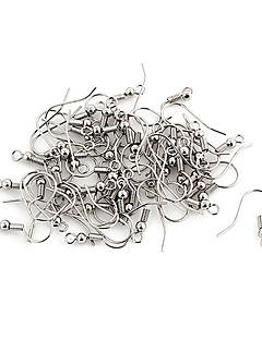 Durable Silver Alloy Hooks 100 Pcs/Bag