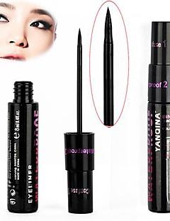 Eyeliner Liquid Wet Long Lasting / Waterproof / Natural / Fast Dry Black Eyes 1 Others
