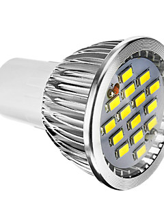 6W E14 / GU10 / GU5.3(MR16) / E26/E27 Spot LED 15 SMD 5730 400 lm Blanc Chaud / Blanc Froid Gradable AC 100-240 V