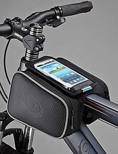 Marsupio triangolare da telaio bici / Bag Cell Phone / Borsa da bici Antipolvere / Schermo touch Ciclismo Cuoio / Tessuto sintetico / PVC