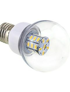 4W E26/E27 LED-pallolamput G60 27 SMD 5730 500 lm Lämmin valkoinen DC 12 / AC 12 / AC 24 / DC 24 V