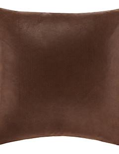Brown Um poliéster decorativa fronha tradicional