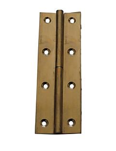 110mm × 40mm antikk bronse Raffinert Brass dørhengselen