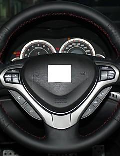 Xuji ™ Black echt leder stuurhoes voor Honda Spirior OId Accord