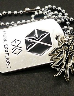 EXO CHAN YEOL Phoenix Alloy Necklace