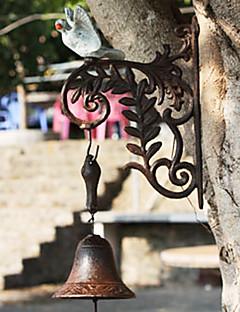 European Retro Rustikk malte Dove av smijern Hånd-type Door Bell