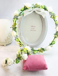 Capacete Grinaldas Casamento/Ocasião Especial Seda Mulheres/Menina das Flores Casamento/Ocasião Especial