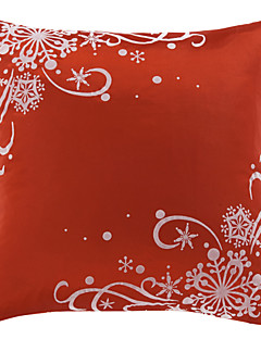 Red Two poliéster decorativa fronha tradicional