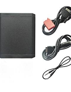 iPod iPhone 3.5mm Aux In ja Bluetooth Valinnainen auto MP3-soitin sovitin Mercedes Benz 1994-1998 W140 W202 W210