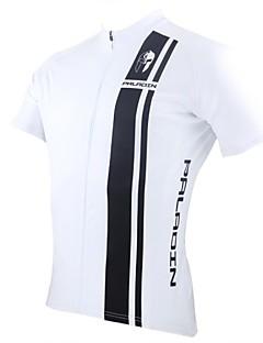PaladinSport Mænds Black Stripes foråret og sommeren Style 100% Polyester Kortærmet Cycling Jersey