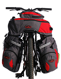 Acacia® Bike Bag 60LPanniers & Rack Trunk / Cycling Backpack Reflective Strip / 3 In 1 Bicycle Bag Polyester Cycle Bag Cycling/Bike