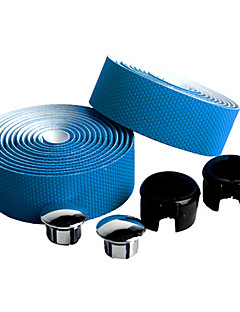 Bike Handlebar Tape Blue Carbon Fibre / PU 1 pair(2 Pcs)-NUCKILY
