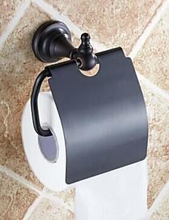 Toiletrulleholder Olieret bronze Vægmonteret 140 x 134 x 66mm (5.51 x5.27 x 2.59inch) Messing Antik