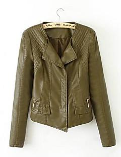 Women's Fashion Leisure Slim Fur Clothing Outerwear