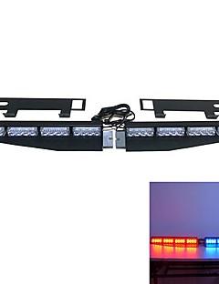 barra de luces visera barra de luces autoestéreo de tablero de emergencia fuente de luz del coche (colores opcionales)