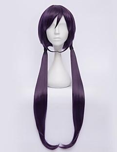 liefde levend! tojo Nozomi violet zwart cosplay pruik