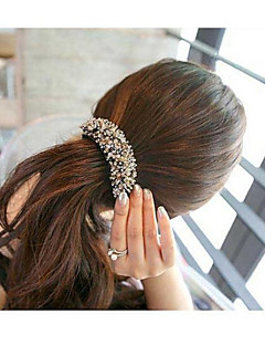 High Quality Charming Crystal Hair Clips Barrettes Random Color
