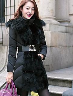 SANFENZISE™ Women's Large Fur Collars Hoodies Down Jacket Coat