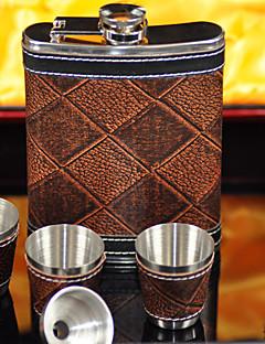 Inox Luxueux Flasque Non personnalisée