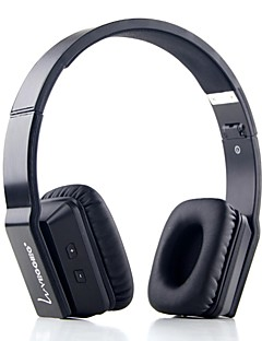 VEGGIEG V8200 Headphone Bluetooth V4.0 Over Ear with Microphone/Volume Control for Phones/PC
