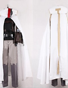 Inspired by Log Horizon Cosplay Anime Cosplay Costumes Cosplay Suits Patchwork White Long Sleeve Cloak / Vest / Pants / Belt