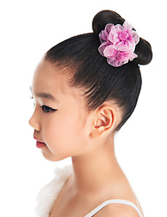 Dance Accessories Headpieces Children's Training Organza Flower(s)
