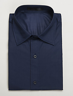 azul escuro camisa de manga curta