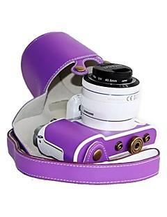 cuir dengpin® modèle de litchi sac de couverture de protection de boîtier de la caméra de style de charge pour Samsung NX3000