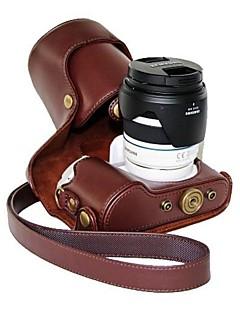 pajiatu® pu læder olie hud kamera beskyttende sag taske Cover til Samsung NX300 18-55mm objektiv eller prime linse