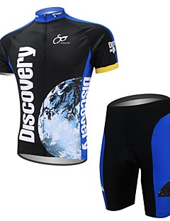 XAOYO® Cycling Jersey with Shorts Men's Short Sleeve Bike Quick Dry / Back Pocket Clothing Sets/Suits Polyester / 100% PolyesterCartoon /