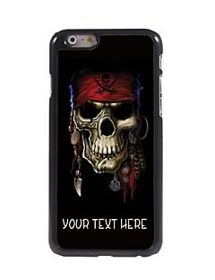 """personlig fall piratskalledesign metallhölje för iphone 6 (4,7 """")"""