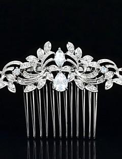 8,5 cm Nobby vlasy hřebenem diadém přilby svatební svatební šperky na party
