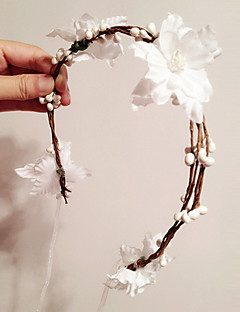 Women's Polyester Headpiece - Wedding/Special Occasion Wreaths