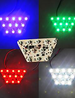 4-cores lâmpada de sinal de freio diy cauda virada luz âmbar luz motocicleta