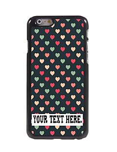 "Personalized Case Lovely Heart Design Metal Case for iPhone 6 (4.7"")"