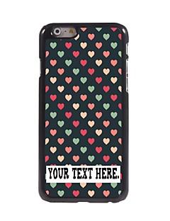 """caixa personalizada coração bonito caso design de metal para iphone 6 (4.7 """")"""