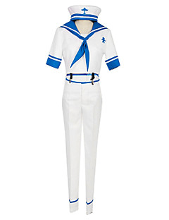ilmaiseksi! iwatobi lukion merimiespuku cosplay puku